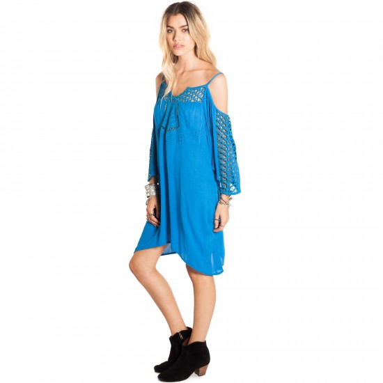 Amuse Lola Dress - Medina Blue