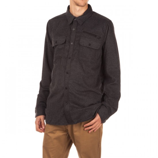 Analog Transmission Shirt - Faded Herringbone