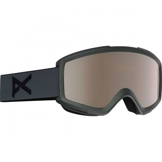Anon Optics Helix 2.0 Snowboard Goggles - Stealth/Silver Amber