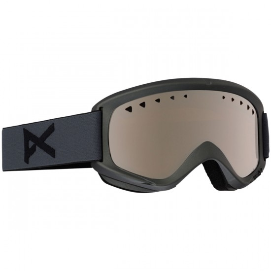 Anon Optics Helix With Spare Snowboard Goggles - Stealth/Silver Amber