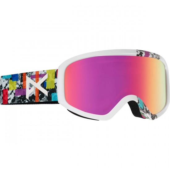 Anon Optics Insight Womens Snowboard Goggles - Bouquet/Pink