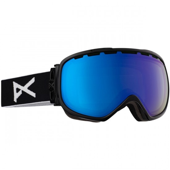Anon Optics Insurgent Snowboard Goggles - Black/Blue Lagoon