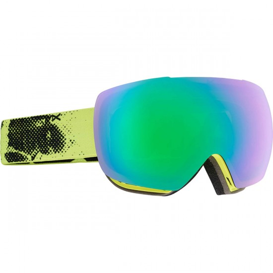 Anon Optics Mig MFI Snowboard Goggles - Anonymous/Green Solex
