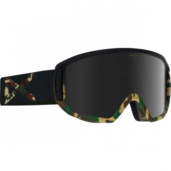 Anon Optics Relapse Snowboard Goggles - Guerrilla/Dark Smoke