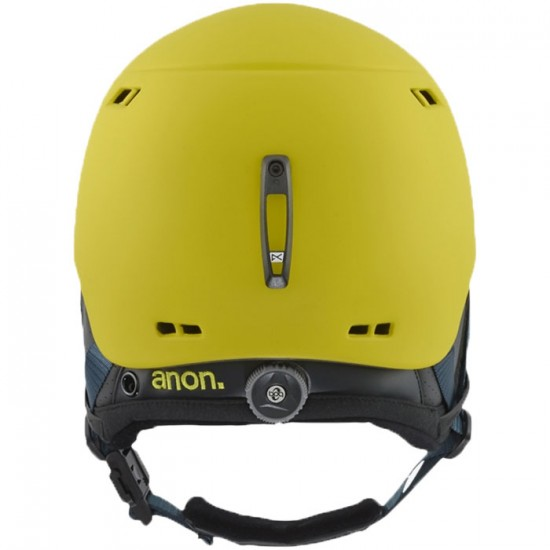 Anon Optics Rodan Snowboard Helmet - Glitchy Green