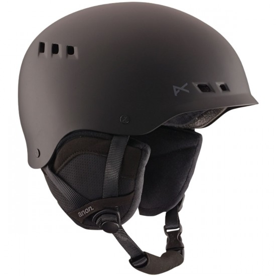 Anon Optics Talan Snowboard Helmet - Black