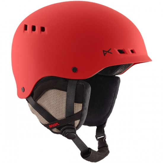 Anon Optics Talan Snowboard Helmet - Ruby Red