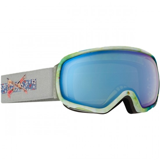 Anon Optics Tempest Womens Snowboard Goggles - Crafty/Blue Lagoon