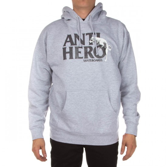 Anti-Hero Doghump Hoodie - Athletic Heather