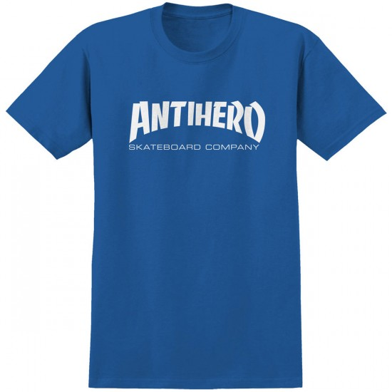 Anti-Hero Skate Co. T-Shirt - Royal Blue