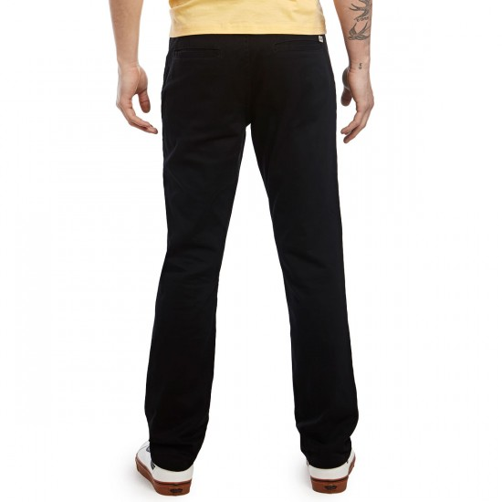 CCS Slim Fit Chino Pants - Black - 28 - 32