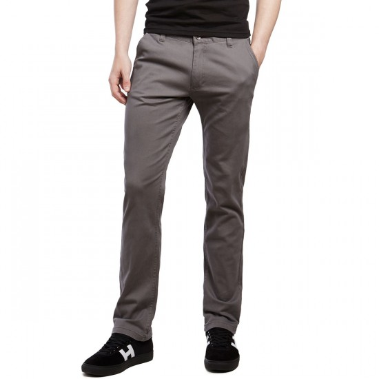 CCS Clipper Slim Fit Chino Pants - Grey