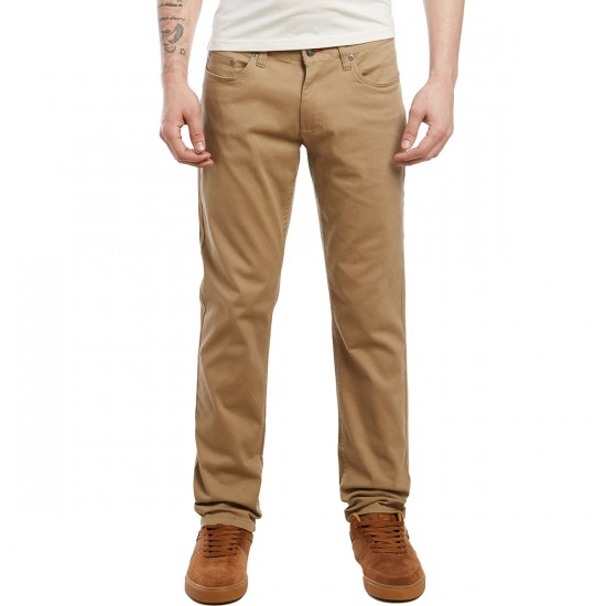 CCS Slim Fit Chino Pants - Khaki - 29 - 28
