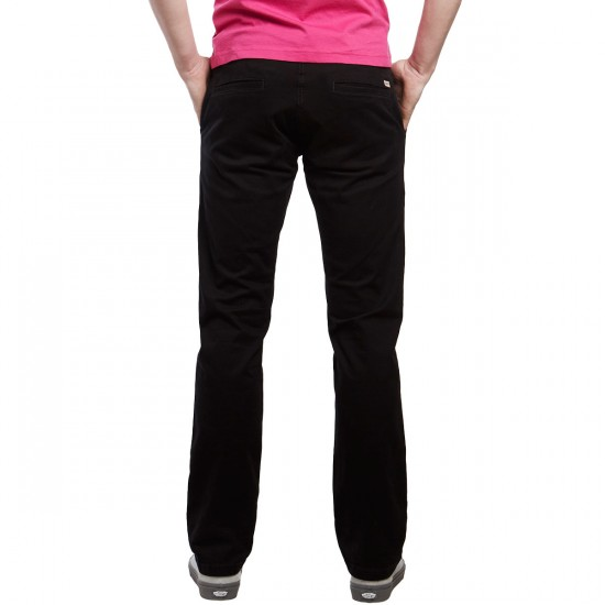 CCS Straight Fit Chino Pants - Black - 30 - 30