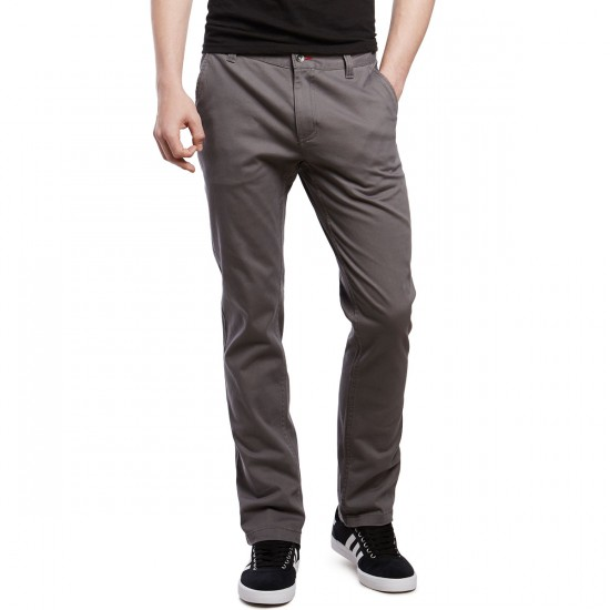 CCS Clipper Straight Fit Chino Pants - Grey