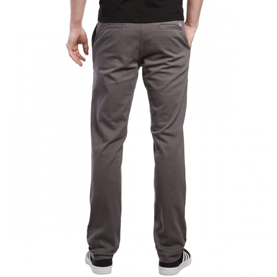 CCS Straight Fit Chino Pants - Grey