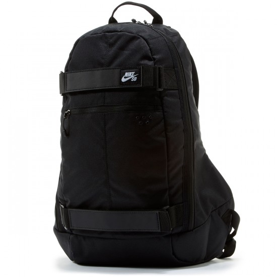 Nike SB Embarca Medium Backpack - Black/Black/White