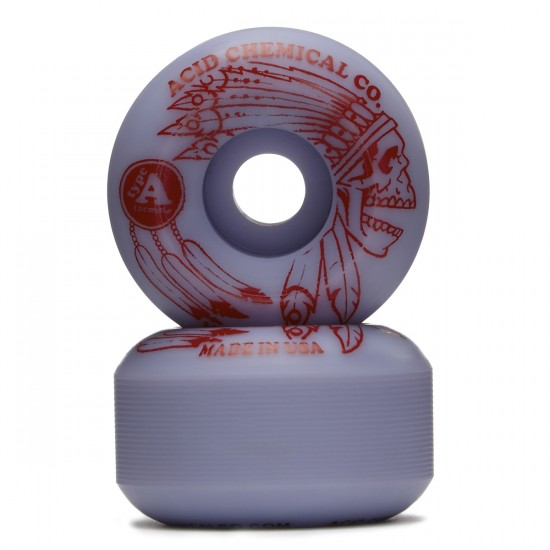Acid Dead Feather Skateboard Wheels - Lavender - 53mm