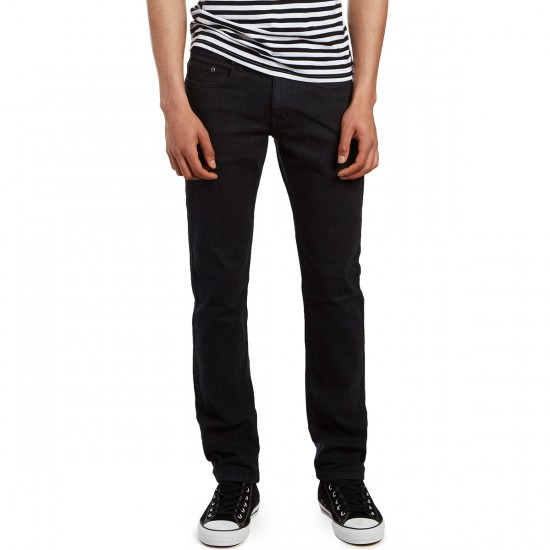 CCS Slim Fit Jeans - Washed Black - 28 - 30