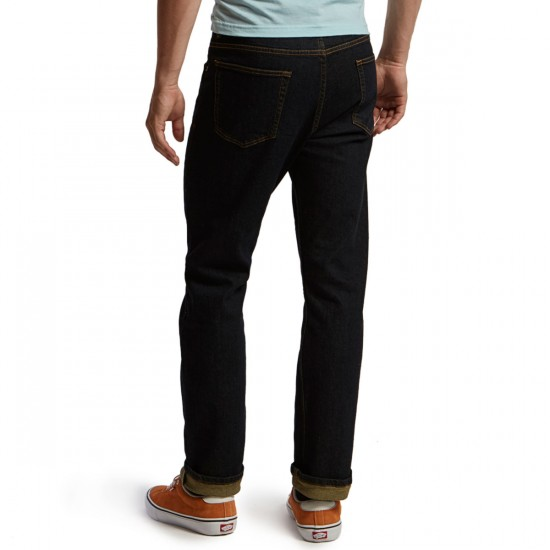 CCS Straight Fit Jeans - Dark Indigo - 40 - 32
