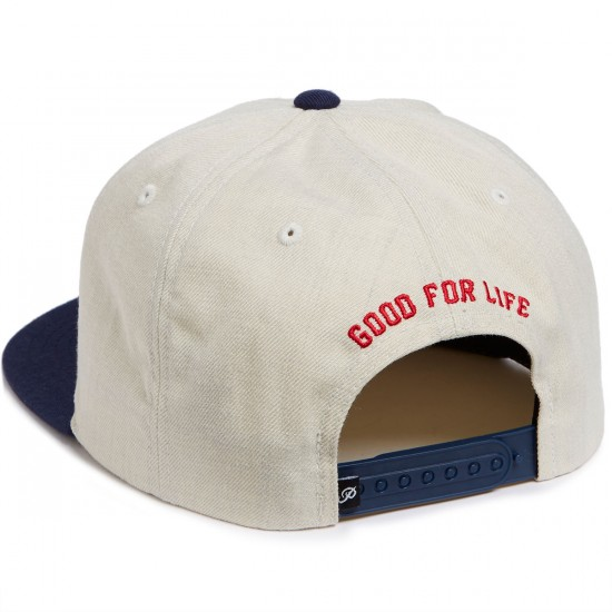 Primitive GFL Slabtype Snapback Hat - Oatmeal Heather