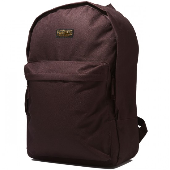 Primitive Homeroom Backpack - Burgundy