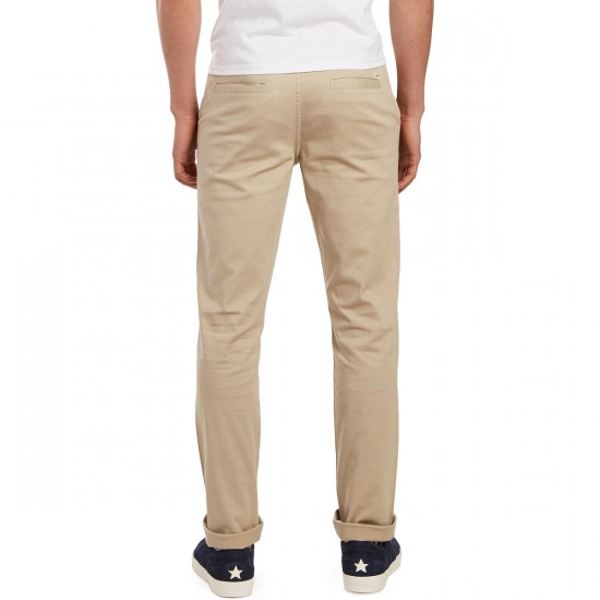 CCS Slim Fit Chino Pants - Light Khaki - 29 - 28
