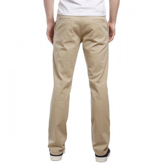 CCS Clipper Straight Fit Chino Pants - Light Khaki - 36 - 34