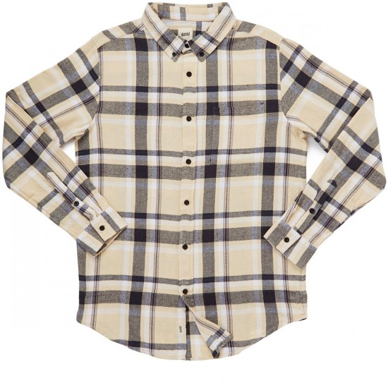 CCS Flannel Long Sleeve Shirt - Macba Plaid