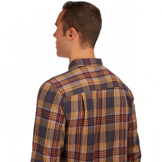 CCS Flannel Long Sleeve Shirt - Southbank Plaid