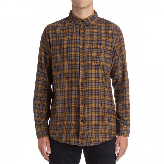 CCS Flannel Long Sleeve Shirt - Badlands Grey Plaid