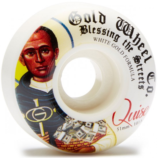 Gold Blessings Quise Skateboard Wheels - 51mm 101a