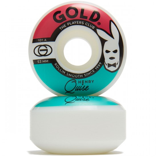 Gold Players Club Quise Skateboard Wheels - 53mm