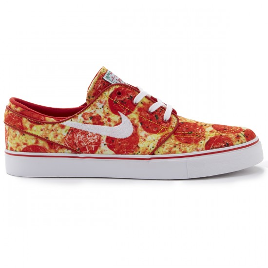 Nike SB X Skate Mental Zoom Stefan Janoski Pizza Shoes - Red/White - 4.0