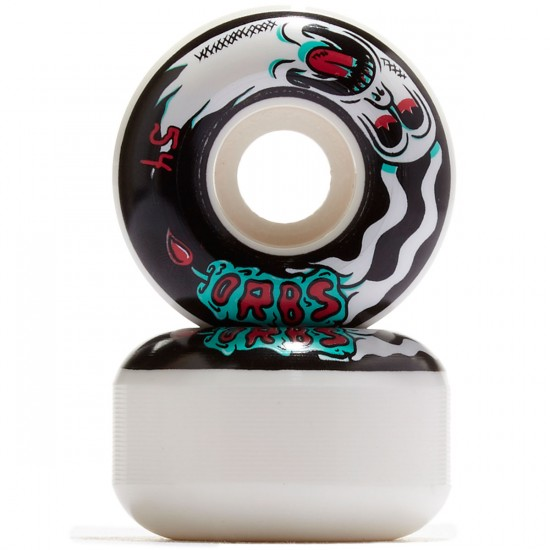 Welcome Orbs Preternaturals 100A Skateboard Wheels - Black/Teal/Red - 54mm 100A