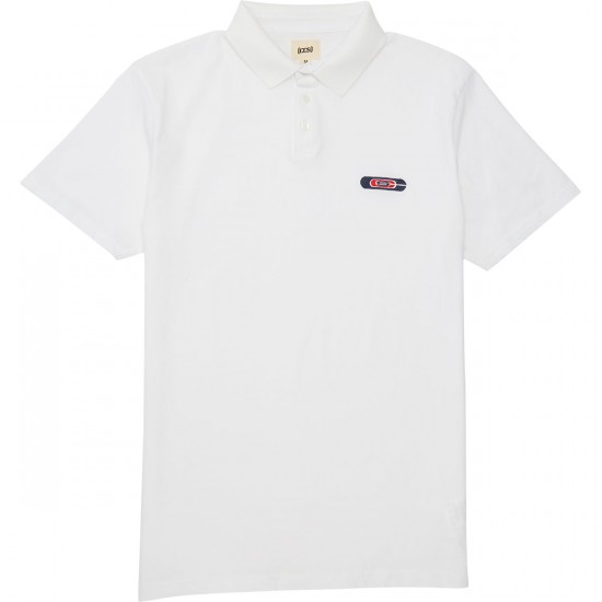 CCS Nested Polo Shirt - White