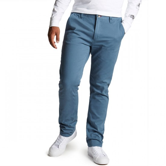 CCS Slim Fit Chino Pants - Steel Blue