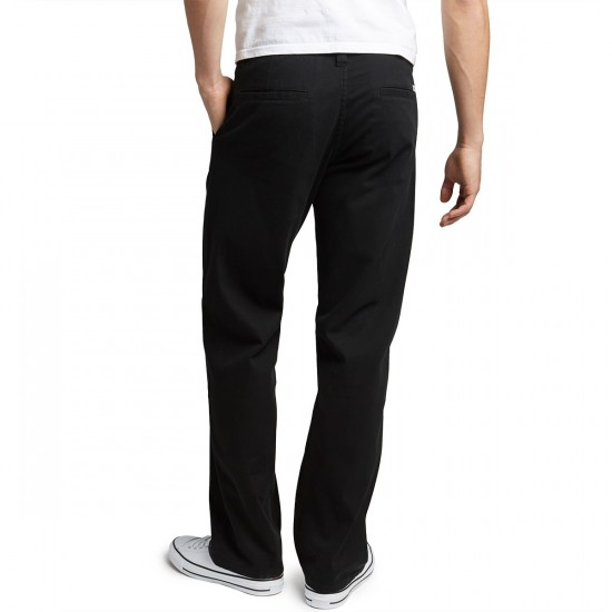 CCS Relaxed Fit Chino Pants - Black - 28 - 30