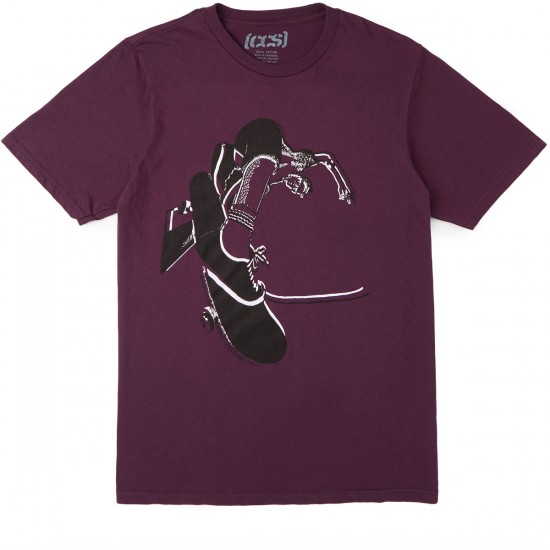 CCS Layback T-Shirt - Plum