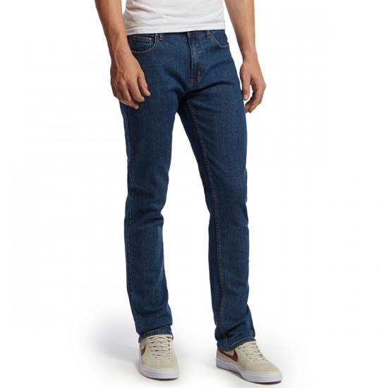 CCS Banks Straight Fit Jeans - Washed Light Blue - 28 - 30