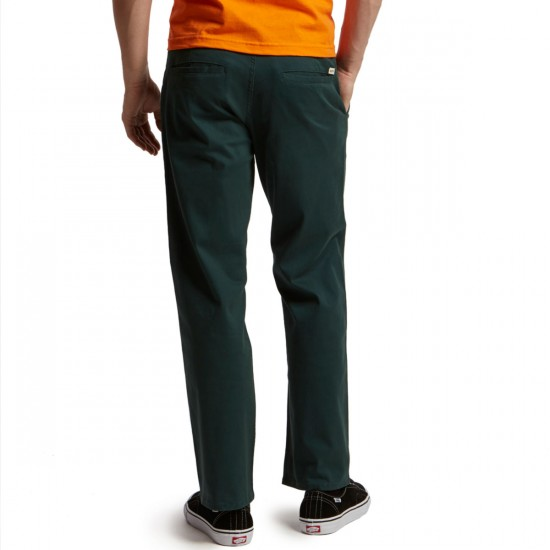 CCS Relaxed Fit Chino Pants - Teal - 28 - 30