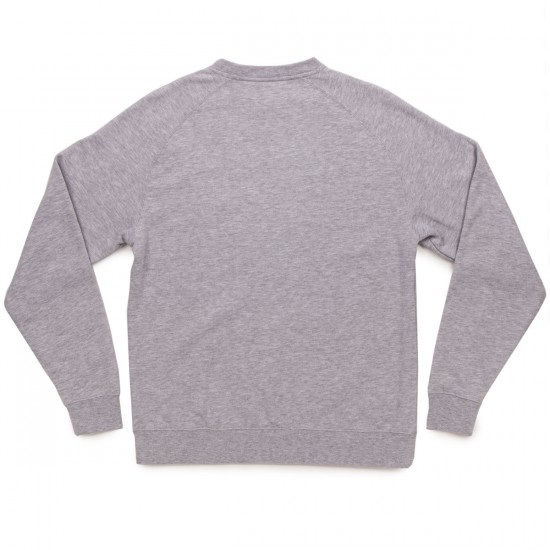 Arbor Apparel Arbor Made Crew Sweatshirt - Heather Grey