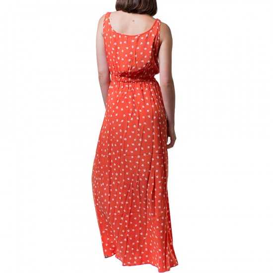 Arbor Athena Maxi Dress - Fire