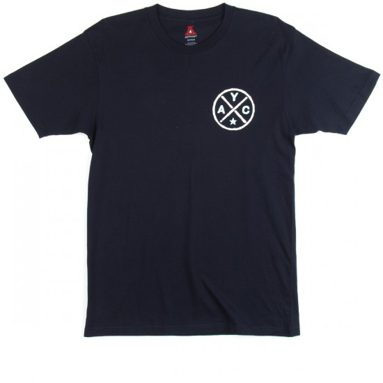 Asphalt Yacht Club Crossroads T-Shirt - Navy