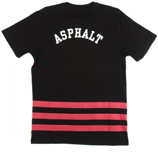 Asphalt Yacht Club Tackle T-Shirt - Black