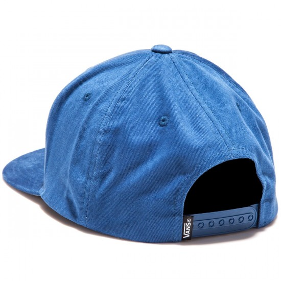 Vans Badge Snapback Hat - Blue Print