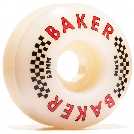 Baker Flag Skateboard Wheels - 53mm