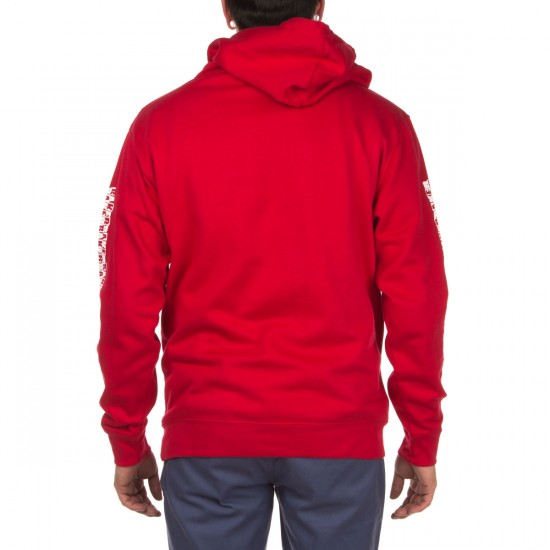 Baker Skateboards Flag Pullover Hoodie - Red
