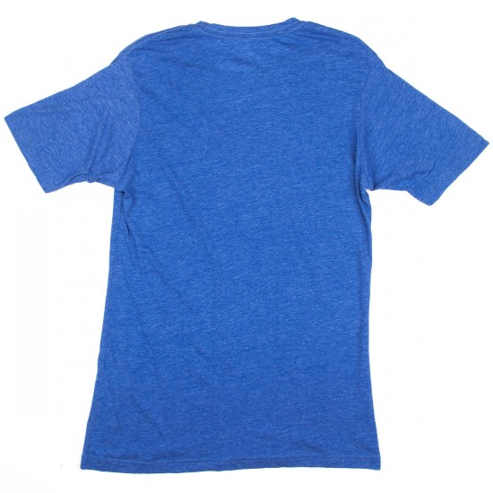 Baker Stacked T-Shirt - Blue Heather