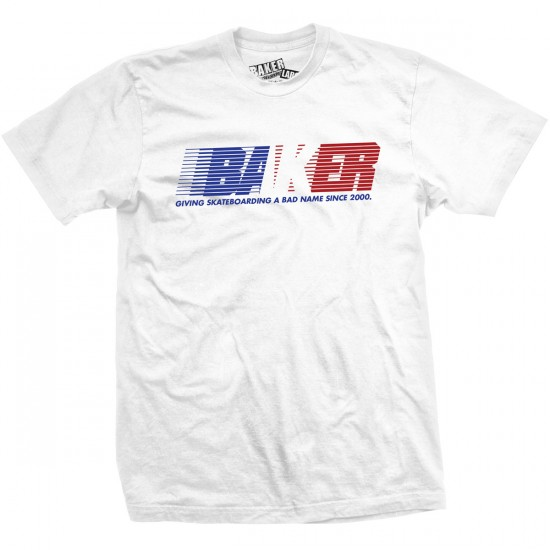 Baker United T-Shirt - White